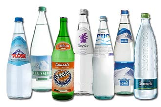 Acqua in vetro acqua in plastica for Acqua lauretana a domicilio